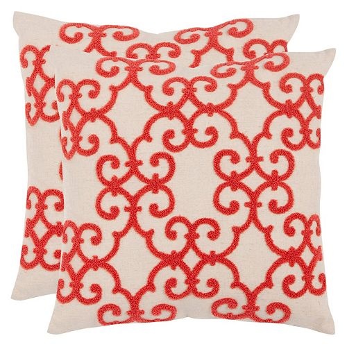 Safavieh 2-piece Sonya Throw Pillow Set