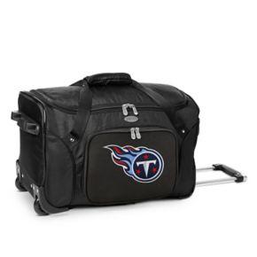 Denco Tennessee Titans 22-Inch Wheeled Duffel Bag