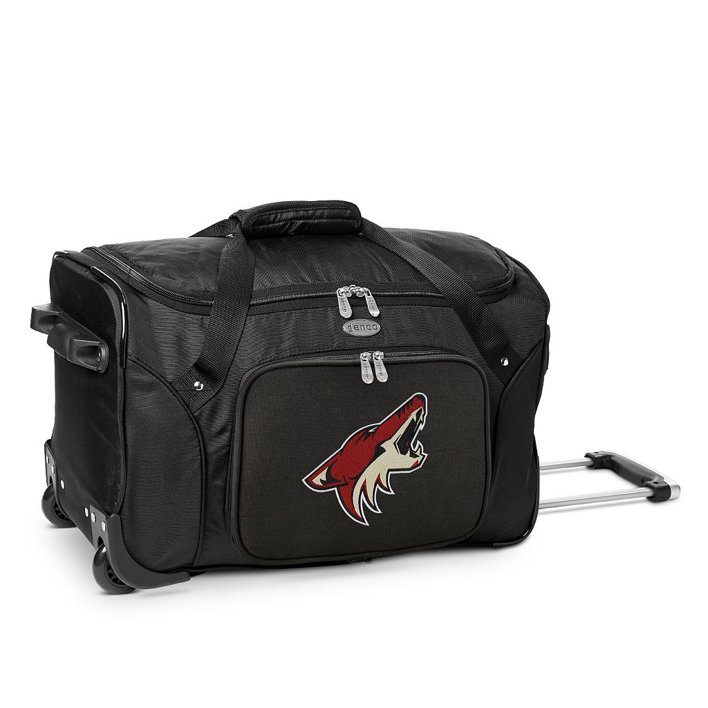 Denco Arizona Coyotes 22-Inch Wheeled Duffel Bag