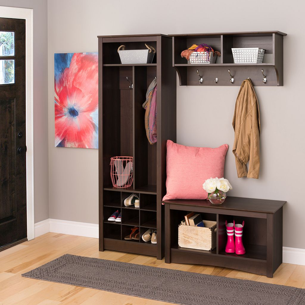 Prepac Space-Saving Entryway Shoe Storage Unit