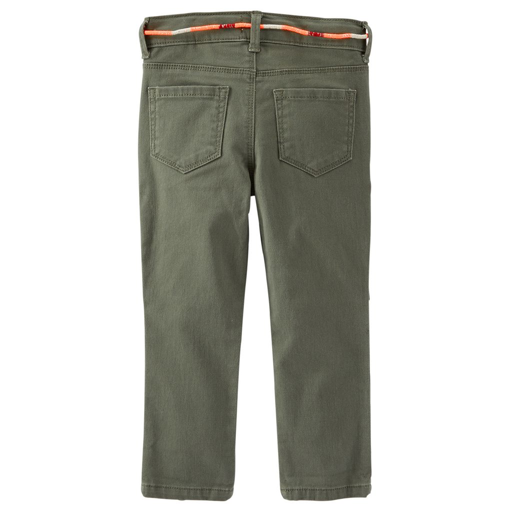 Toddler Girl OshKosh B'gosh® Skinny Field Twill Pants