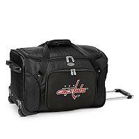 Denco Washington Capitals 22-Inch Wheeled Duffel Bag