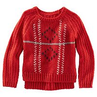 OshKosh B'gosh® Toddler Girl Pullover Sweater