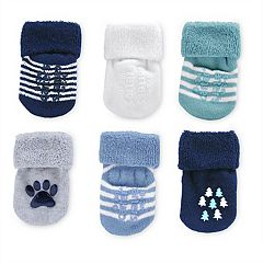 Baby Carter's 6 pkSocks