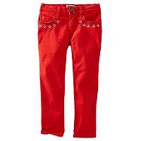 OshKosh B'gosh® Toddler Girl Embellished Pants