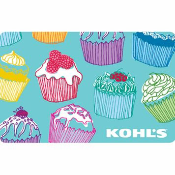 Cupcakes Gift Card