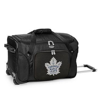 Denco Toronto Maple Leafs 22-Inch Wheeled Duffel Bag
