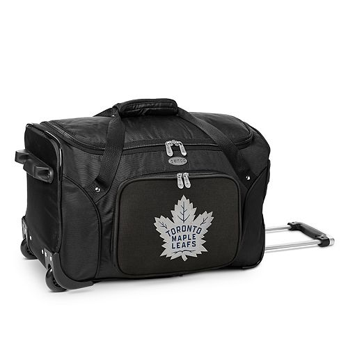 Denco Toronto Maple Leafs 22-Inch Wheeled Duffel Bag