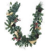 St. Nicholas Square® 6-ft. Traditional Burlap Artificial Garland