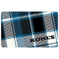 Blue Plaid Gift Card