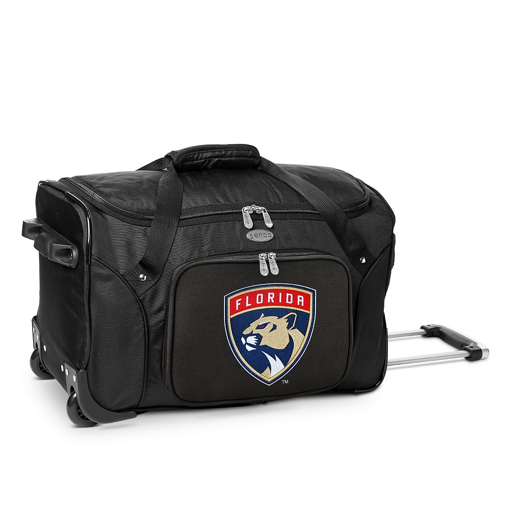 Denco Florida Panthers 22-Inch Wheeled Duffel Bag