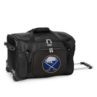 Denco Buffalo Sabres 22-Inch Wheeled Duffel Bag