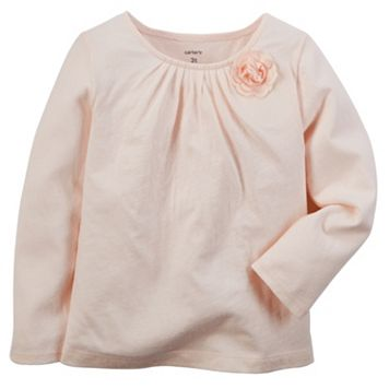 Girls 4-8 Carter's Rosette Top