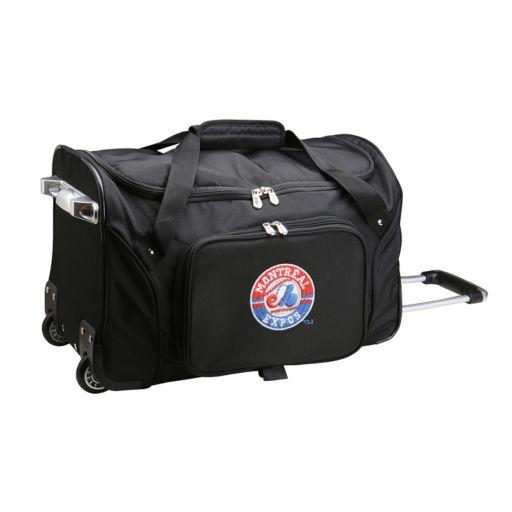 Denco Montreal Expos 22-Inch Wheeled Duffel Bag