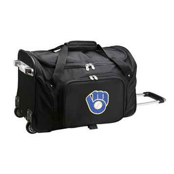 Denco Milwaukee Brewers 22-Inch Wheeled Duffel Bag