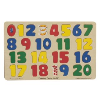 Melissa & Doug Wooden Counting Puzzle