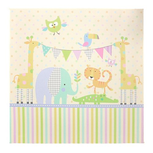 Tricoastal Jungle Parade Canvas Wall Art