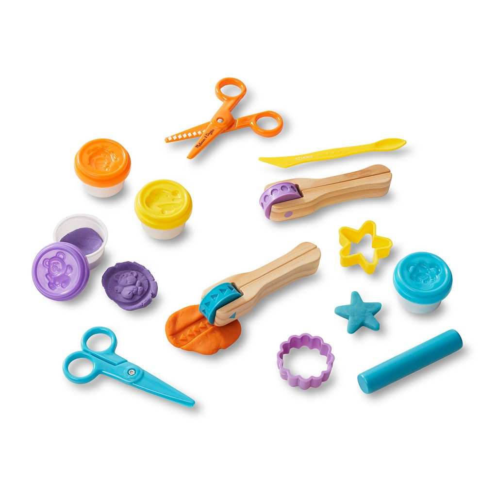 Melissa & Doug Cut, Sculpt & Stamp Clay Play Set