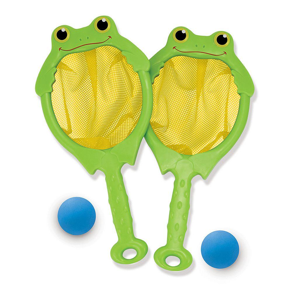 Melissa & Doug Froggy Toss Net & Ball Set
