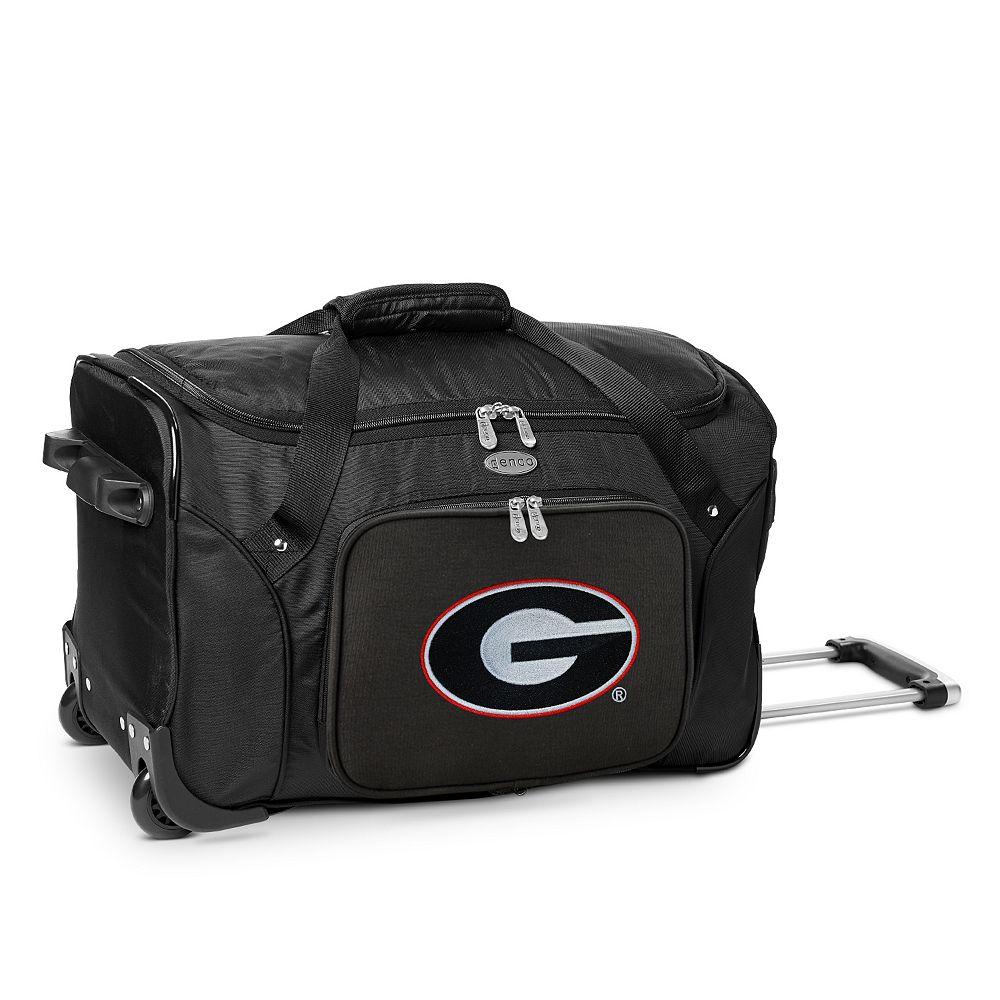 Denco Gonzaga Bulldogs 22-Inch Wheeled Duffel Bag