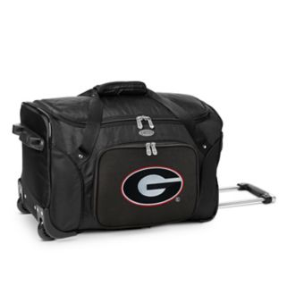 Denco Gonzaga Bulldogs 22-Inch Wheeled Duffel Bag