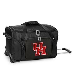 Denco Houston Cougars 22-Inch Wheeled Duffel Bag