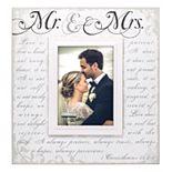 Malden ''Mr. & Mrs.'' Corinthian Script 5'' x 7'' Frame
