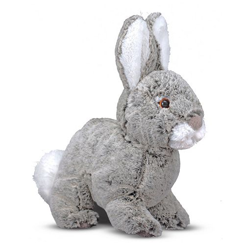 Melissa & Doug Bramble Bunny Plush Toy