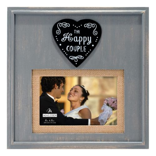 Malden ''The Happy Couple'' 4'' x 6'' Frame