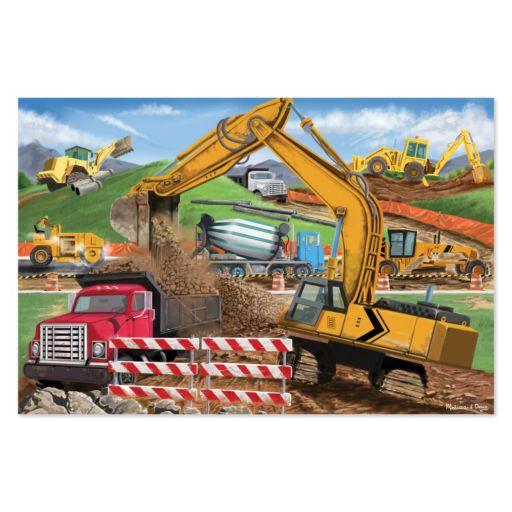 Melissa & Doug Building Site 48-pc. Floor Puzzle