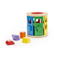 Melissa & Doug Shape Sorting Drum