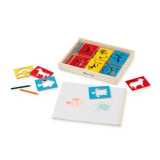 Melissa & Doug Stencil Box Set