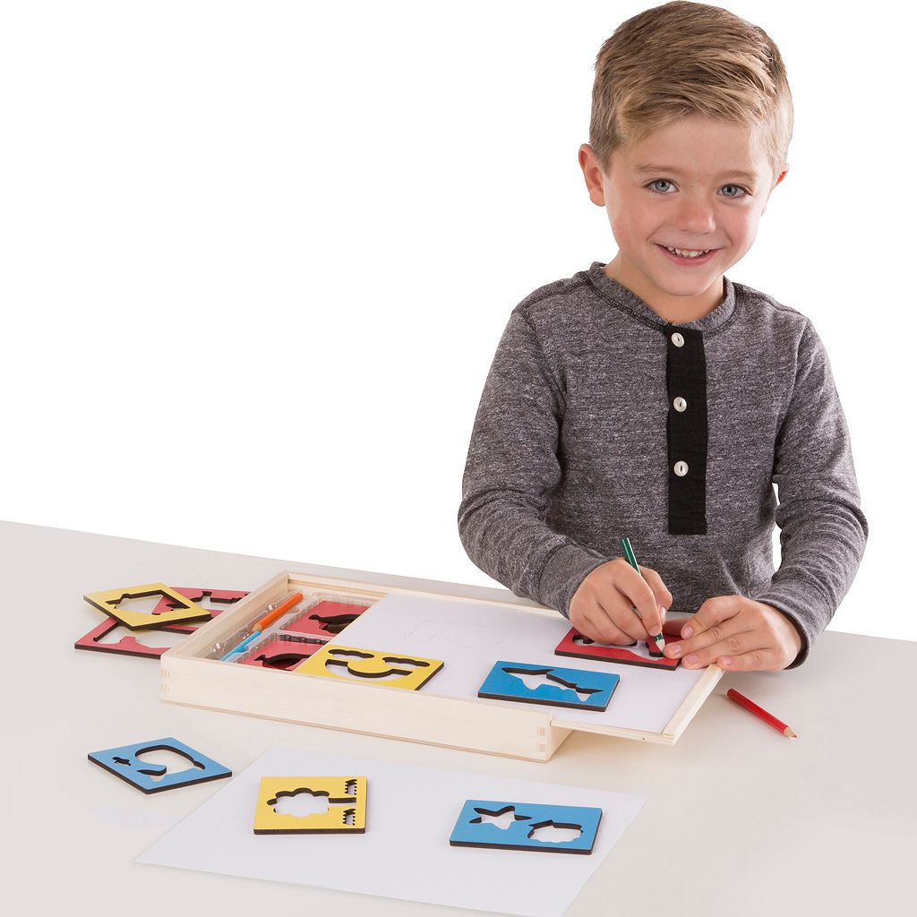 Melissa & Doug Stencil Box Set