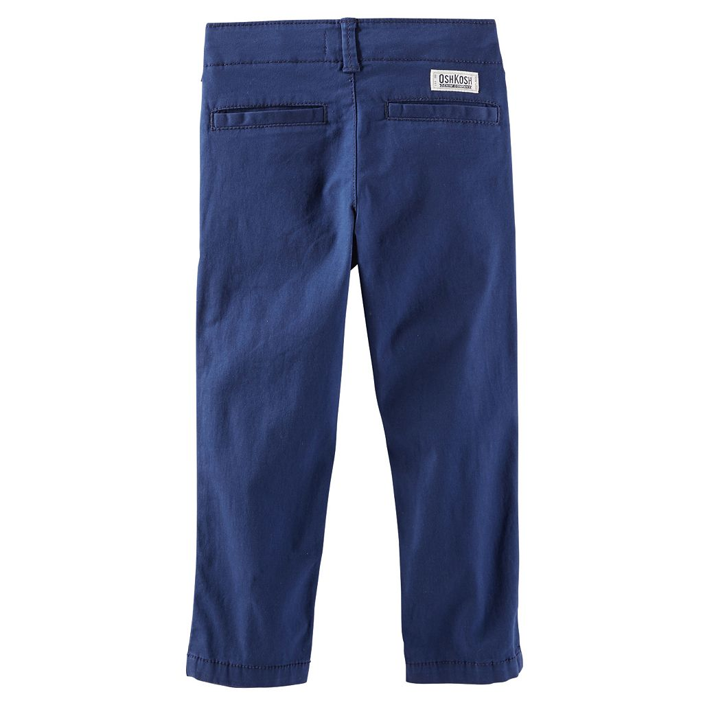 Boys 4-7 OshKosh B'gosh® Straight-Fit Stretch Twill Pants