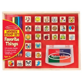 Melissa & Doug Favorite Things Stamp Set