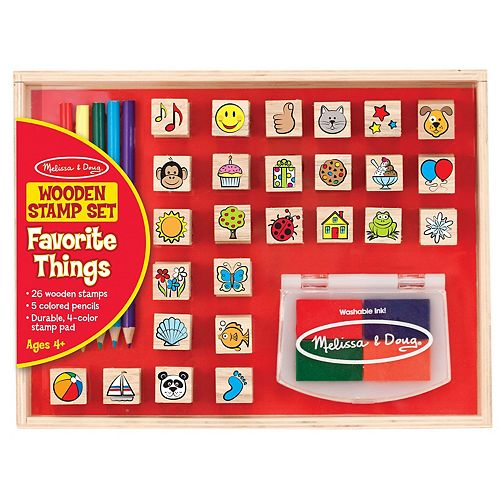 Melissa & Doug Favorite Things Stamp Set