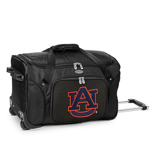 Denco Auburn Tigers 22-Inch Wheeled Duffel Bag