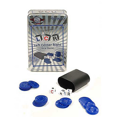 George & Company LLC Left Center Right Dice Game 25th Anniversary Collector's Tin