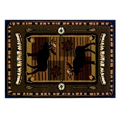United Weavers Designer Contours Wilderness Stream Rug