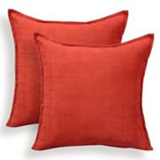 Mendon 2 pc Embossed Suede Throw Pillow Set