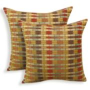 Othello 2-piece Jacquard Geometric Throw Pillow Set