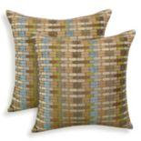 Othello 2-piece Jacquard Geometric Throw Pillow Set