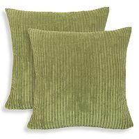 Perry 2-piece Textured Woven Throw Pillow Set