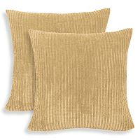Perry 2-piece Textured Woven Throw Pillow Set