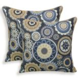 Scarlett 2-piece Woven Jacquard Throw Pillow Set