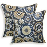 Scarlett 2 pc Woven Jacquard Throw Pillow Set
