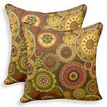 Scarlett 2-piece Woven Jacquard Throw Pillow Set