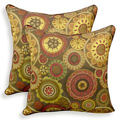 Scarlett 2 pc Woven Jacquard Throw Pillow Set