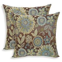 Rosita 2 pc Woven Jacquard Throw Pillow Set
