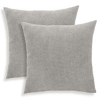 Tyler 2-piece Textured Woven Throw Pillow Set